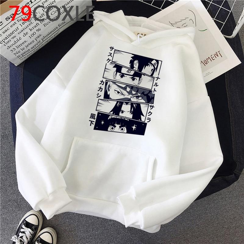 Hot Japanese Anime Hoodies kakashi Akatsuki Graphic Sweatshirts Men Sasuke Streetwear Itachi Cartoon Fashion Tops Unisex Male