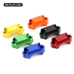 For HONDA CRF 250R 450R 450X CBR 600RR 1000RR 954 CB600F XR 400/650 Motorcycle Brake Master Cylinder Handlebar Bar Clamp Cover