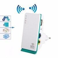 Wi-Fi ретранслятор 300 Мбит/с 2,4 ГГц 2 порта беспроводной маршрутизатор усилитель сигнала расширитель мини карманный усилитель для дома путешес...