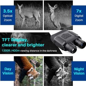 Image 5 - 7x31 ดิจิตอลอินฟราเรด HD Night Vision อุปกรณ์ Widescreen การล่าสัตว์ Optics Sight วิดีโอการถ่ายภาพกล้องส่องทางไกลกลางคืนกล้องไม่มีขาตั้งกล้อง