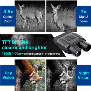 Image 5 - 7x31 HD kızılötesi dijital gece görüş cihazı geniş ekran avcılık optik görüş Video fotoğrafçılığı gece dürbün kamera yok Tripod