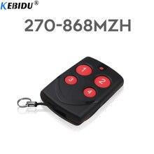KEBIDU Universal Multifrequency 315/433/868MHz automatyczne klonowanie pilot PTX4 kopiowanie duplikator do drzwi brama garażowa