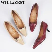 Женские туфли лодочки на высоком каблуке will & zest женские