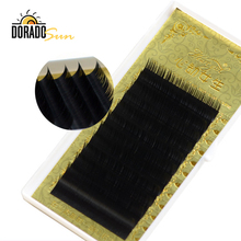 цена на Doradosun Faux Mink False Eyelashe Extention Soft Silk Protein Fake Eyelashes Natural Individual Lashes