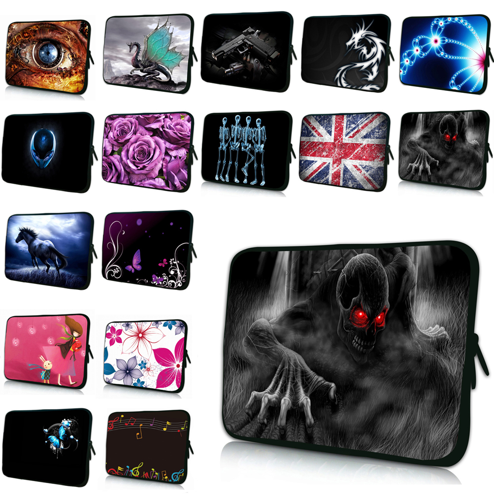 <font><b>Funda</b></font> <font><b>Portatil</b></font> <font><b>15.6</b></font> Bolsas Neoprene Zipper 10 12 13 14 17 7 7.9 8.0 Tablet Chromebook Laptop PC Bag For Macbook Air Pro 13.3 IBM image