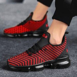 Image 5 - QGK 2019 جديد الرجال حذاء كاجوال وسادة هوائية أحذية رياضية الرجال شبكة ضوء تنفس الربيع في الهواء الطلق أحذية رياضية الصيف تشغيل رياضية