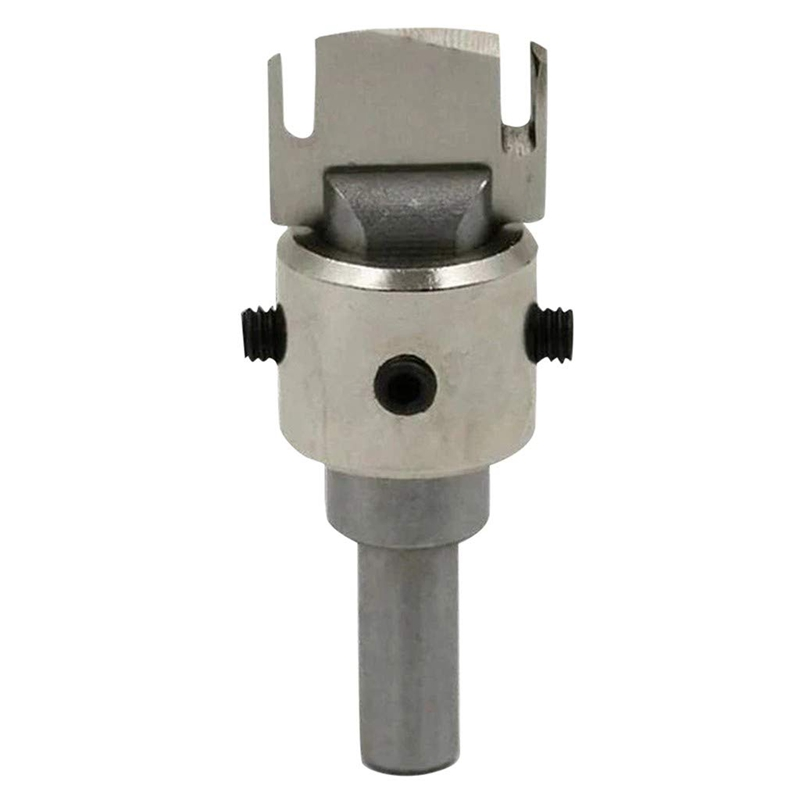 Wooden Thick Ring Maker, Pstarts Multifunction High Speed Steel Drill Bit Woodworking Tools, Wooden Bead Maker Milling Cutter Ro