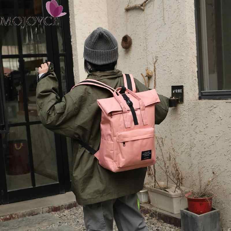 2019 nouvelle mode grand Nylon femmes hommes voyage sac à dos unisexe décontracté grande capacité ordinateur portable USB charge Top-poignée sacs à bandoulière
