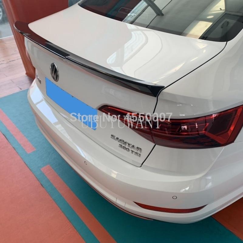Buy For Volkswagen Sagitar Jetta2019 ABS Plastic Primer Color Car Tail Trunk Wing Decoration Rear Spoiler For Jetta2019