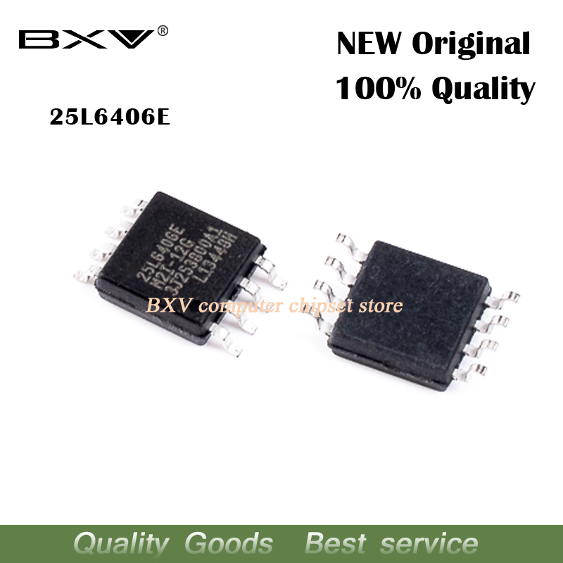 2pcs <font><b>25L6406E</b></font> MX25L6406E MX25L6406EM2I-12G SOP-8 Routing LCD driver board memory new original laptop chip free shipping image