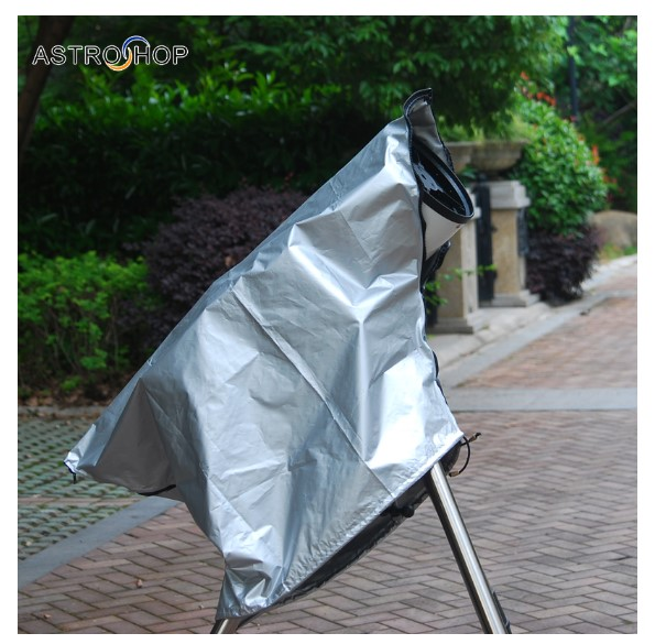 Astronomical Telescope Dust Cover Telescope Outdoor Sun Protection Anti-dew Light Damage Eclipse Observation Hood