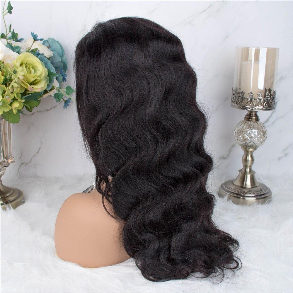 Hd886f67773404a37bb84a420f32f081fR Body Wave Lace Frontal Wig Human Hair Wigs 13×4 Lace Frontal Human Hair Wigs For Black Women Pre Plucked Non Remy Hair