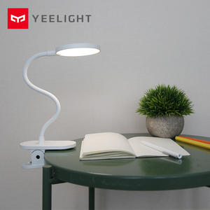 Image 5 - Yeelight LED Desk Lamp Clip On Night Light USB Rechargeable 5W 360 Degrees Adjustable Dimming Reading Lamp For Bedroom