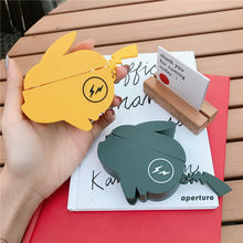3D Cute Cartoon Japan Anime Silicone Earphone Case For Airpods 1 2 Wireless Bluetooth Headphone Headset Cover Charging Box(China)