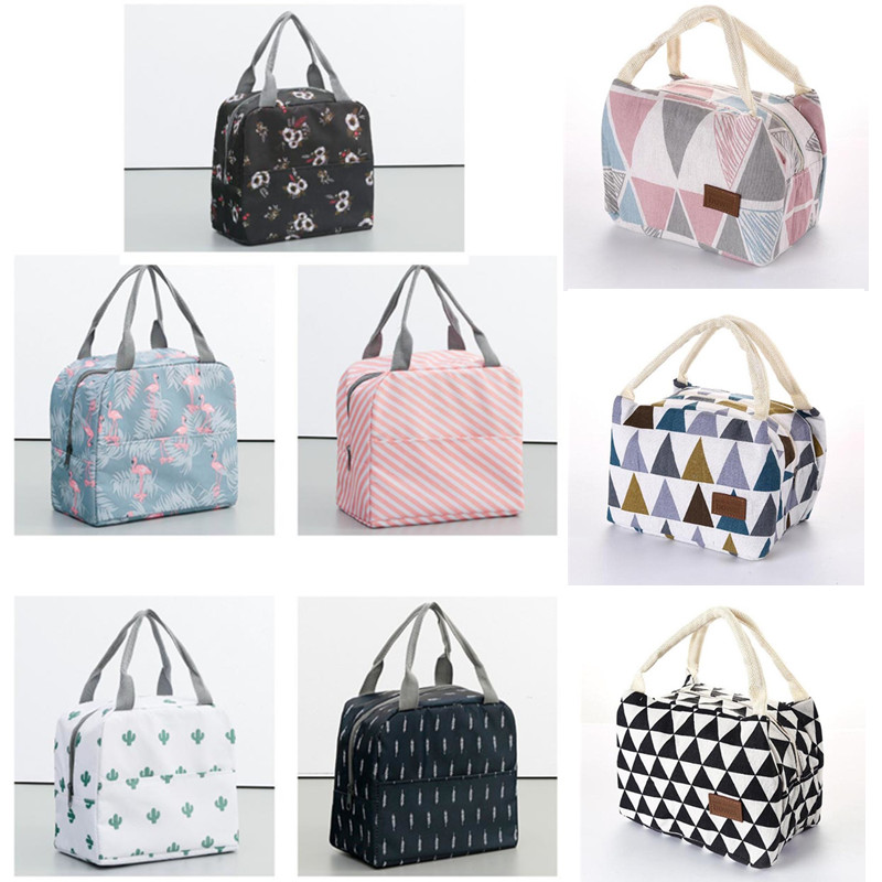 Picnic Bag Lunch-Cooler-Bag Outdoor Insulated Camping For Women Activities Multifunctional
