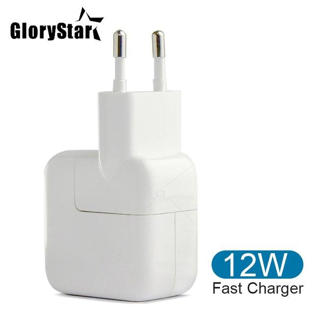 12W 2A Veloce USB Caricatore Del Telefono Mobile per il iPhone 6 6s 5 5s 7 8 X Plus. iPad Caricatore Tablet Adattatore di Alimentazione Portatile USB Carica Veloce
