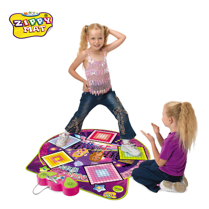 New Style Children'S Educational Electronic Music Pad Wireless Dance Mat Game Console Early Education Multi-functional Toy