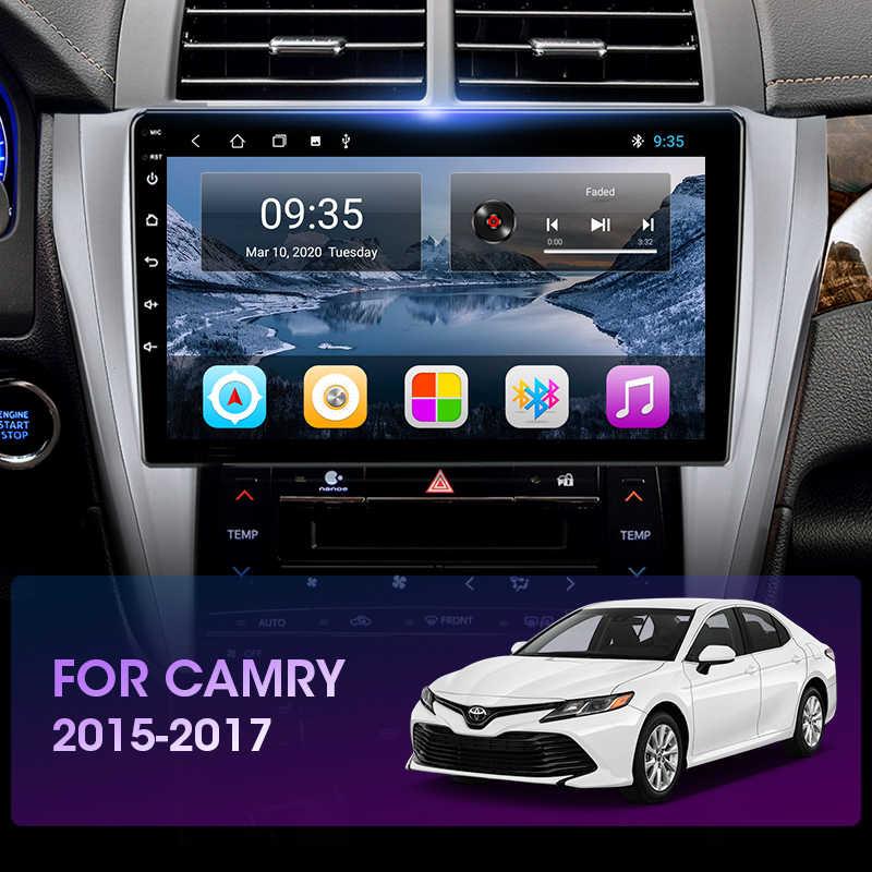 Jmcq para toyota camry 8 50 55 2012-2017 android 9.0 rádio do carro jogador multimídia gps navigaion 2 din flutuante janela rachada tela