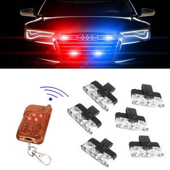 цена на Stroboscopes Strobe light Police lights LED Strobe lights flasher fso auto flash police flasher Police Strobe flasher fso flash