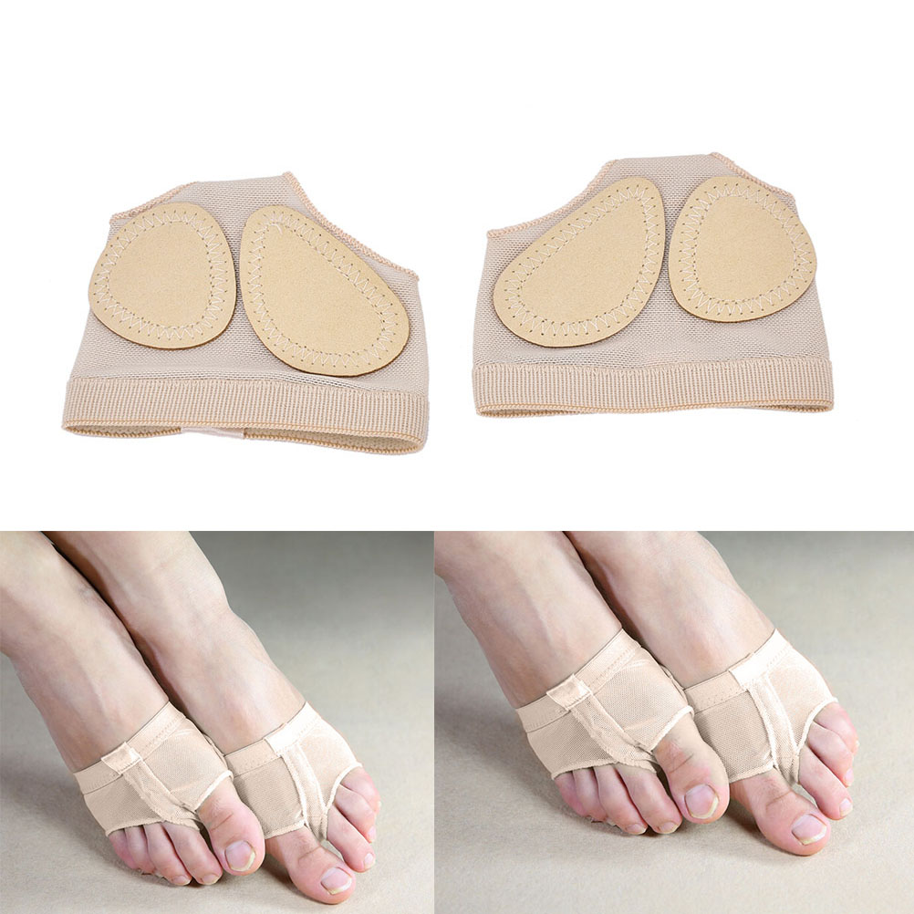 Forefoot Palm Spats Set Ballet Dance Paws Foot Thongs Toe Undies Foot Care Lyrical Shoes Provides No Slip Contact