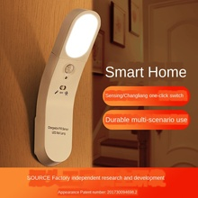 Smart Home USB Human Body Induction Night Light Creative Light Control Table Lamp LED Gift Bedside Lamp Indoor Fairy Lights baby bedside rgb lights lamp smart night lights xiaomi yeelight indoor desktable lamp touch control bluetooth for phone
