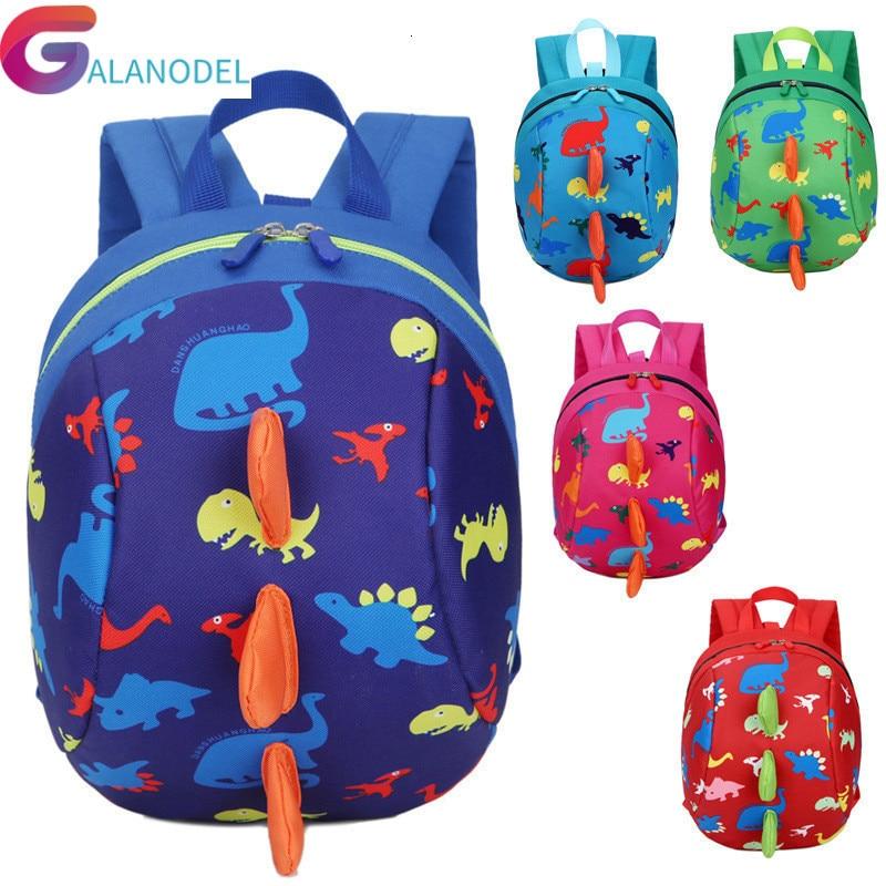 For Kids Kindergarten Backpack Children School Bags Anti-lost Boys Girls Nursery Baby Satchel Mochila Infantil Preschool Bags