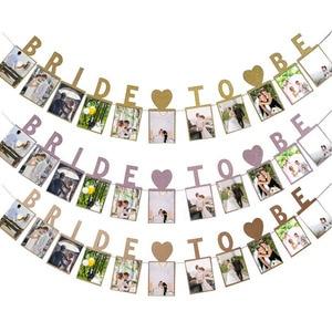 Image 5 - Chicinlife Rose Gold Bride To Beบอลลูนฟอยล์Tiara Crown HeadbandแหวนเพชรบอลลูนBachelorette Hen Party Supplies