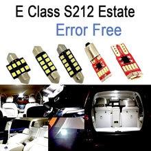 26pcs LED bulb Interior dome Light Kit For Mercedes E class S212 Estate Wagon E200 E250 E300 E350 E400 E500 E550 E63 AMG (10-15)