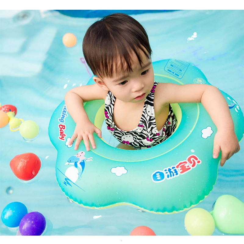 Swimtrainer Baby Kids Swimming Pool Accessories Swimming Ring Inflatable Swim Float Water Fun Pool Toys Swim Ring Water Sport
