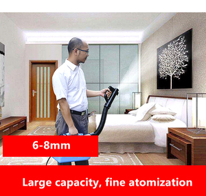Image 5 - 7L Electric ULV fogger Intelligent ultra capacity sprayer mosquito killer disinfection machine insecticide atomizer fight drugs