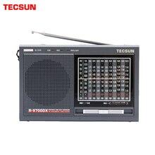 TECSUN R 9700DX orijinal garanti SW/MW yüksek hassasiyetli dünya Band radyo alıcısı hoparlör ücretsiz kargo