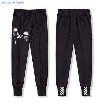 cotton casual sweatpants skate shoes men running long pants cool cool men trousers male men pants male joggers sweatpant