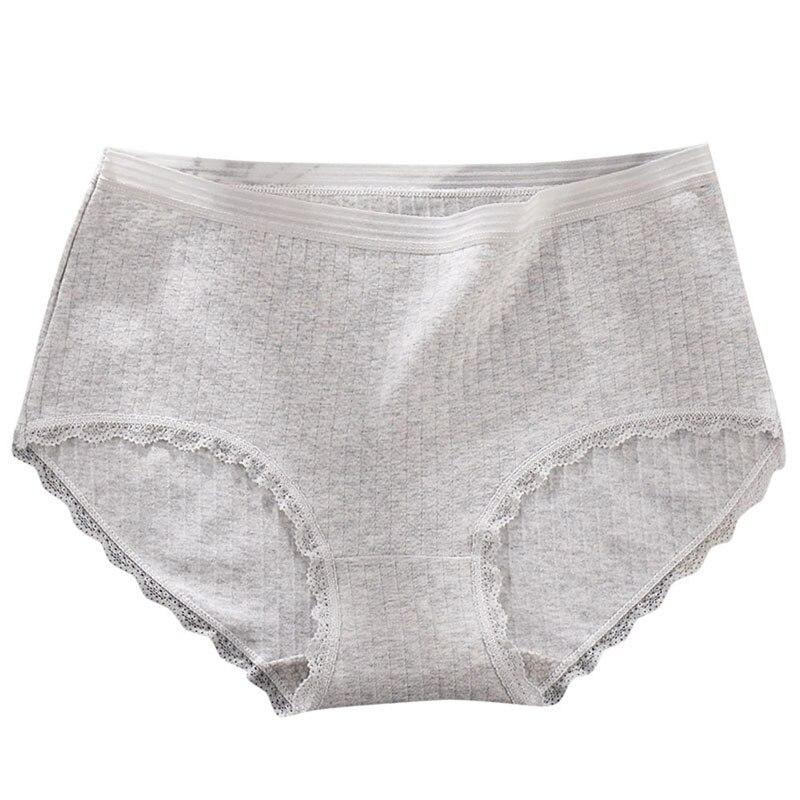 Hot Sale Fashion Women Seamless Lace Edge Big Size Underwear Panties Lingerie Women's Intimates Briefs Dropship XXL-4XL