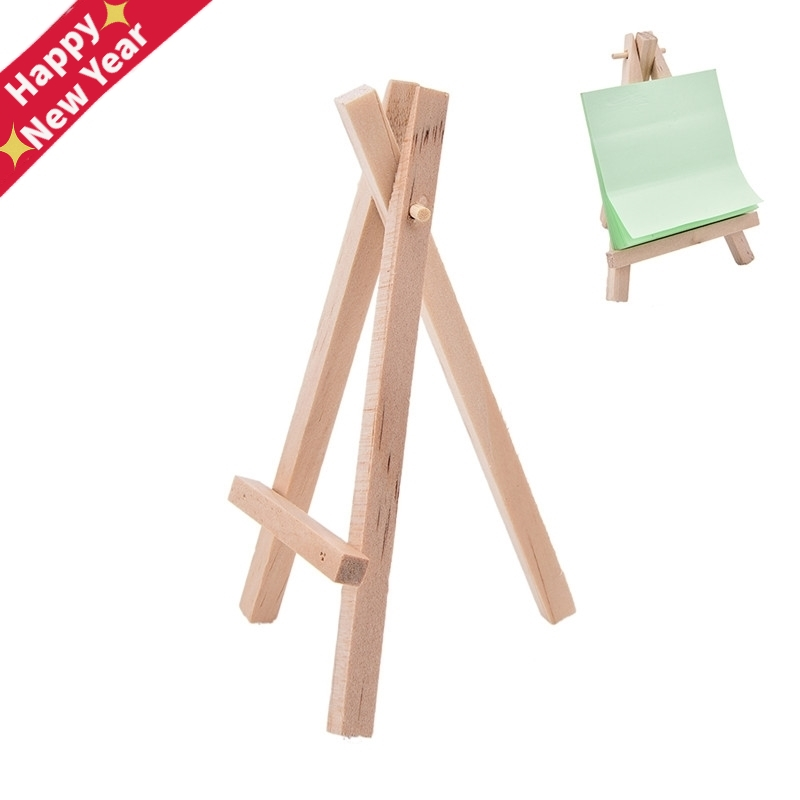 Wooden Mini Artist Easel Wood Wedding Table Card Stand Display Holder For Party Decoration 12.5*7cm