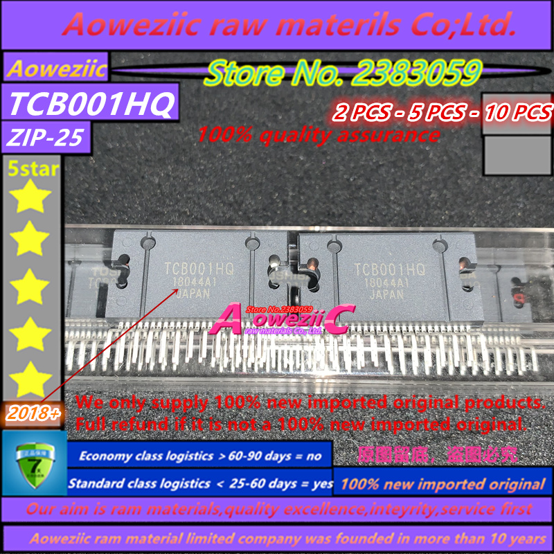Aoweziic 2018+ 100% New Imported Original  TCB001HQ ZIP25 Car Audio Chip 4X45W Completely Replaces TDA7388