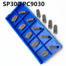 10PCS SP300 PC9030 high quality carbide inserting tool milling cutter CNC cutting slot SP300 цена