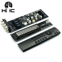 VFD Display Fluorescente a Vuoto A Distanza Scheda del Volume 4 Way Audio Signal Switcher Selettore HiFi Audio Preamplificatore Consiglio