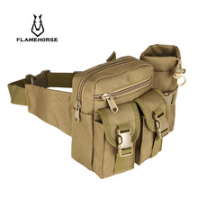 Outdoor Camouflage Bag Running Bag Tactical Bag Military Fan Bag Mountaineering Kettle Bag Special for Filming