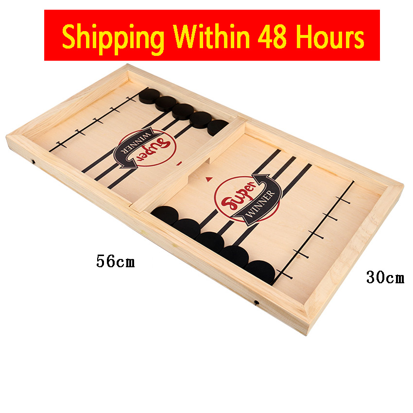 Fast Sling Puck Game Le Board Games Toys Juego For Adults 56*30cm Dropshipping