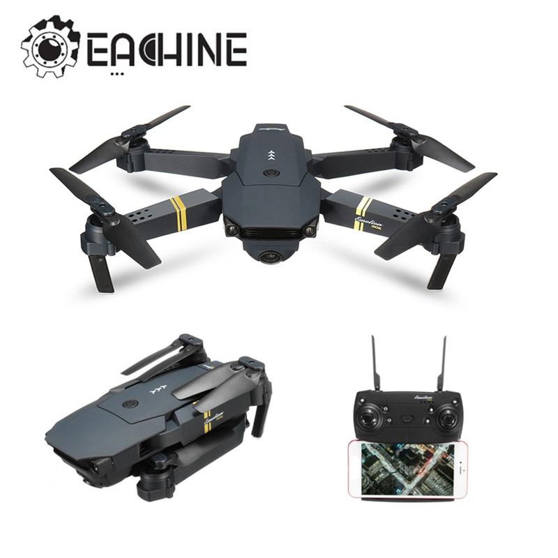 Eachine E58 WIFI FPV con gran angular cámara HD modo de alta retención brazo plegable RC Quadcopter RTF Drone VS VISUO XS809HW