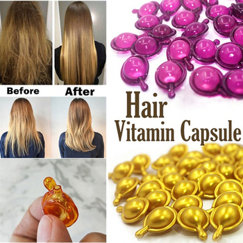 Hair Serum Vitamin Essential Oil Capsule Moroccan Oil hair Keratin Complex Hair Mask Repair Damage Nourishing Anti Hair Loss недорого