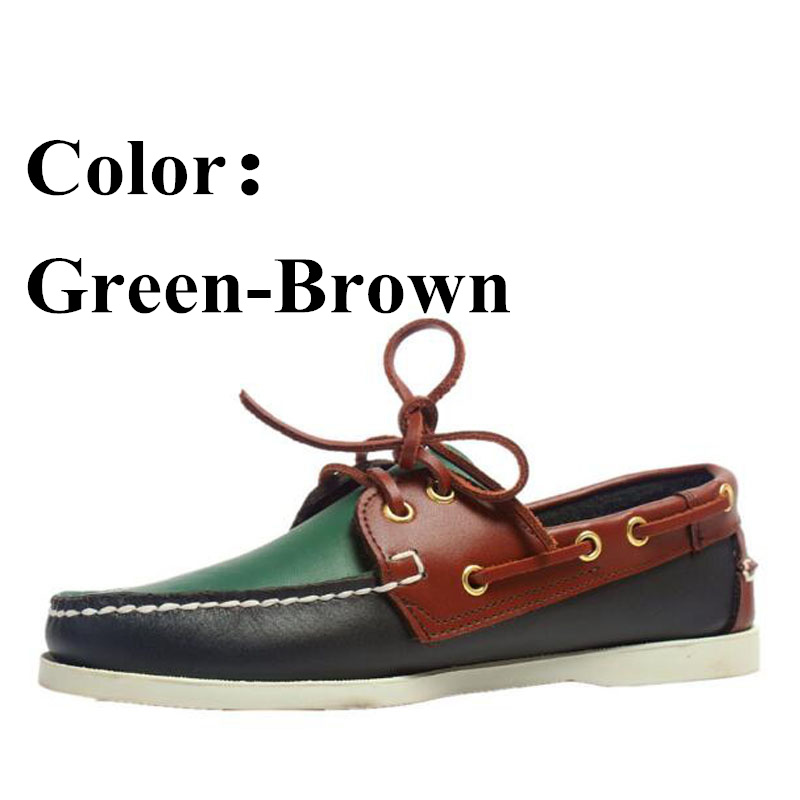 Men Shoes Genuine Leather Comfortable Men Casual Shoes Footwear Chaussures Flats Men Lazy Shoes Zapatos Hombre X015