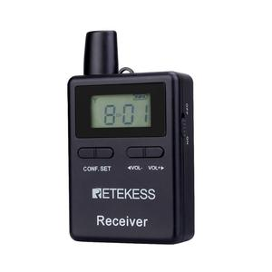 Image 2 - Retekess TT109 Wireless Receiver for Wireless Tour Guide System for Traveling Museum Visit Meeting Factory Church