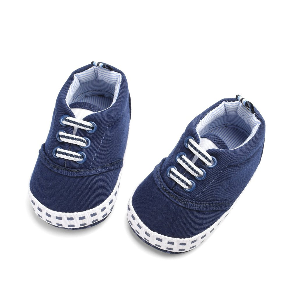 Baby Canvas Shoes Leisure Soft Bottom Toddlers Skid Resistant Baby Shoes For Girls And Boys