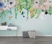 Индивидуальные большие фрески/обои/скандинавские маленькие свежие