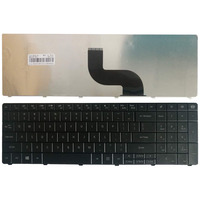 NOVO teclado EUA Para Packard Bell EasyNote TE11 TE11HR TE11-BZ TE11-HC TE11HC NE56R10u NE56R11u NE56R12 EUA preto teclado Do Laptop