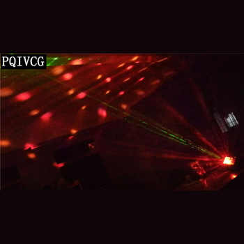 Laser,pattern,beam,strobe 4in1 efftec light dmx512 dj light bar KTV special effect light