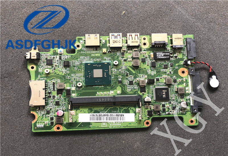 Laptop Motherboard For Acer For Aspire ES1-131 MAIN BOARD NBVB811001 DAZHKDMB6E0 DDR3 SR29H N3050 100% Test OK