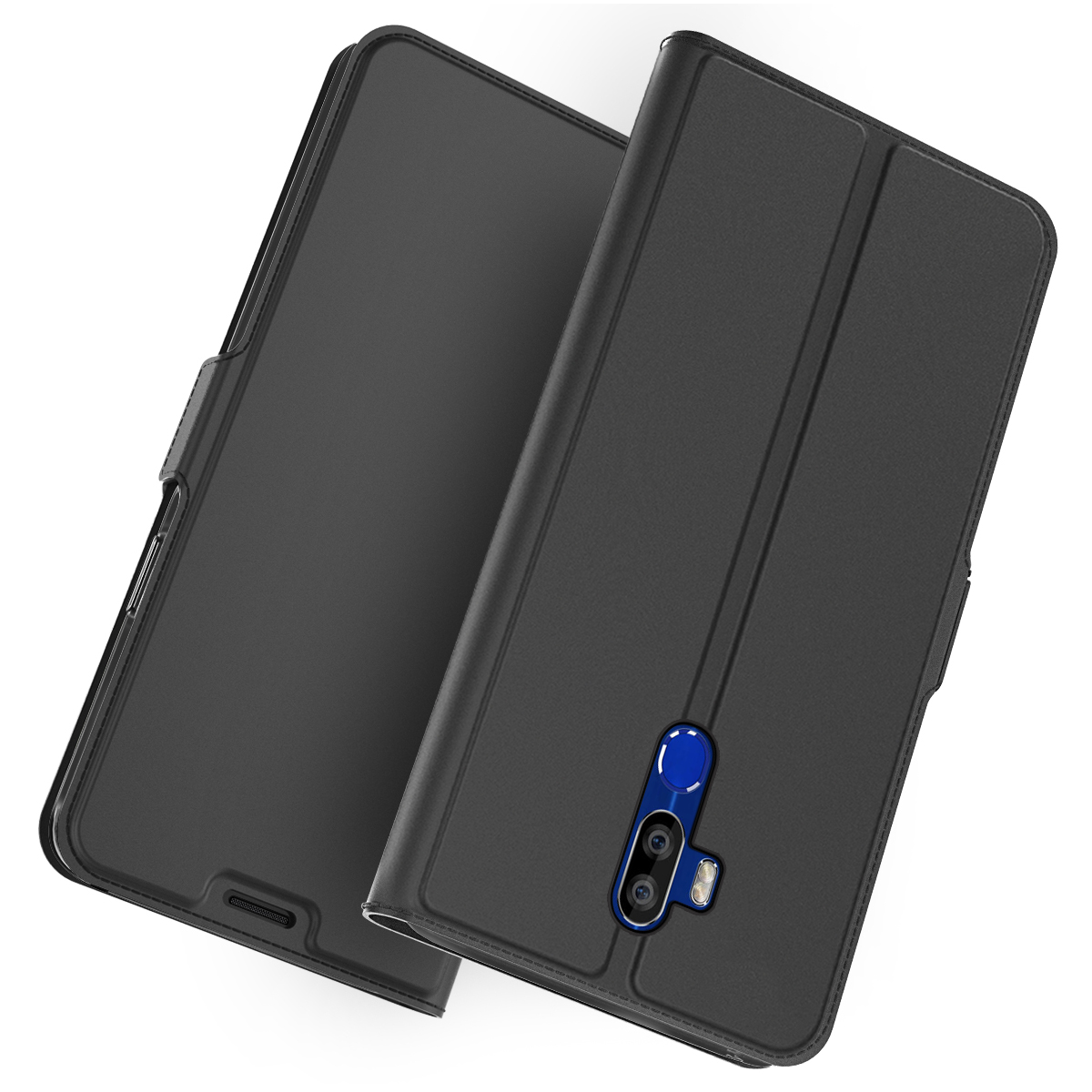 For Oukitel K9 Case PU Leather Flip Stand Wallet Case Full Body Pocket Cover with Card Holders For Oukitel K9 Case Shockproof(China)