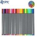 Набор цветных ручек 24 Fineliner, тонкие линии, цветные эскизы, художественные маркеры для рисования, ручки для журнала, планировщика, граффити, к...